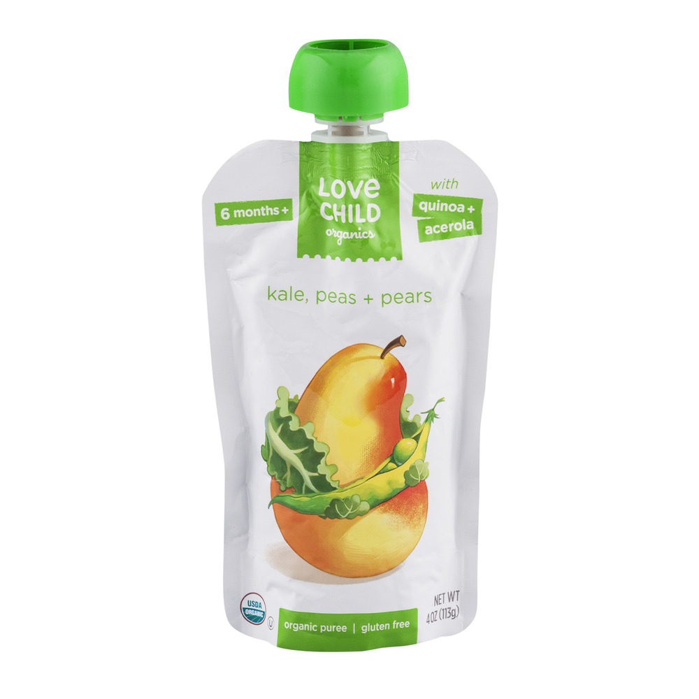 Love Child Organics Puree