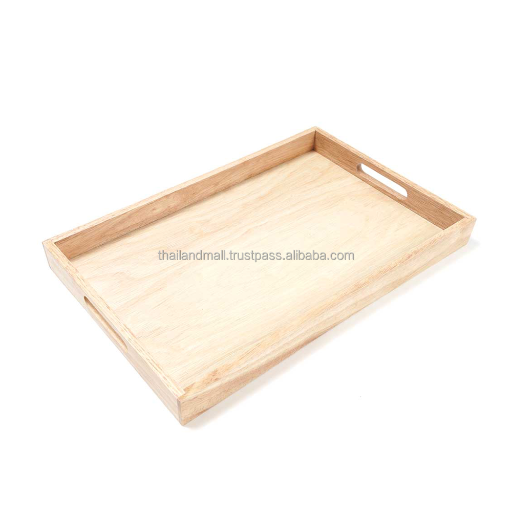 Wooden Serving Tray Dinnerware For Size M from Thailand Mall
