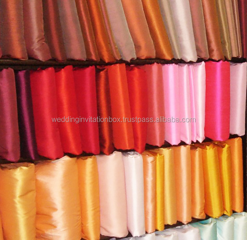 Thailand's Wholesaler of Handwoven 100% Thai Silk Fabrics
