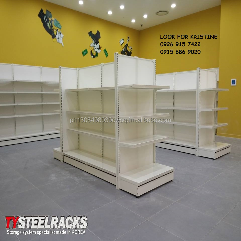 Pad Style Grocery Racks Made in Korea