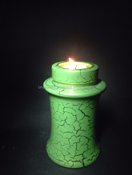 Marble Tealight Candle Holder Pet Urns in low price