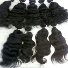 Natural Unprocessed Remy Temple Raw Indian Virgin Human Hair Straight Wavy Curly Directly From Indian Vendors Accept Paypal