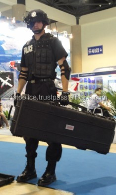 Safety case for police quipment storage box for AK