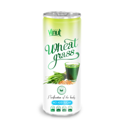 250ml Can Original Wheatgrass juice drink No Add Sugar