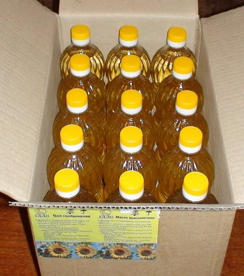 Refined sunflower oil fortified with Vitamin E