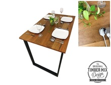 High Quality Modern Contemporary Multi Purpose Solid Balau Wooden Dining Table/Discussion Working Desk