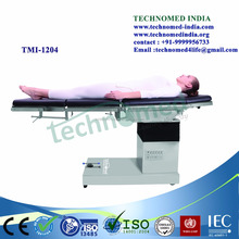 X-ray compatible sliding top OT operating Electric surgical table