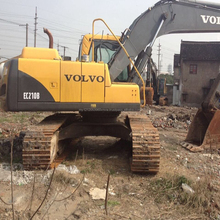 used condition volvo ec210 excavator , used volvo 55 210 360 450 excavator for construction