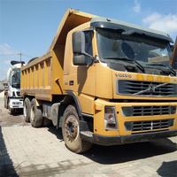 Japan Volvo Dump Truck Used Condition / R380 FM12 Tipper Truck 6X4