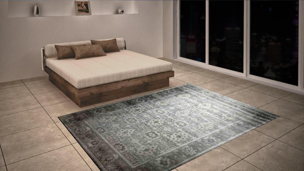 New design handknotted carpet rug No need carpet cleaning