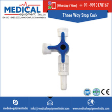 Three Way Stop Cock for Pressure Infusion and Blood Pressure Monitoring
