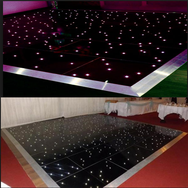 RK RGB Colorful Change lights Make LED Dance Floor/night club tiles led lighting dance floor