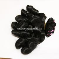 High Quality Products Super Double Drawn Funmi Hair Extensions Machine Weft Hair No Tangle No Shedding