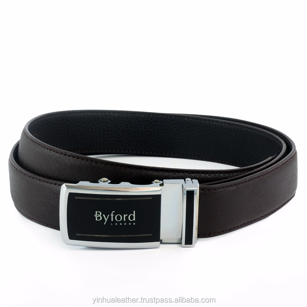 Best Quality Genuine Leather Mens Belt, Top Quality Craftmanship, Automatic / Rachet Buckle Leather Belt
