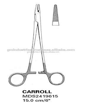 Carroll Micro Needle Holders Surgical Instruments GM-14011