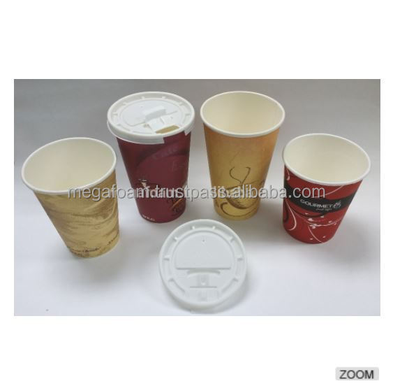 Malaysia OEM Manufacturing High Quality FDA Certified Dia 92mm paper cup sipper/ travel plastic lid