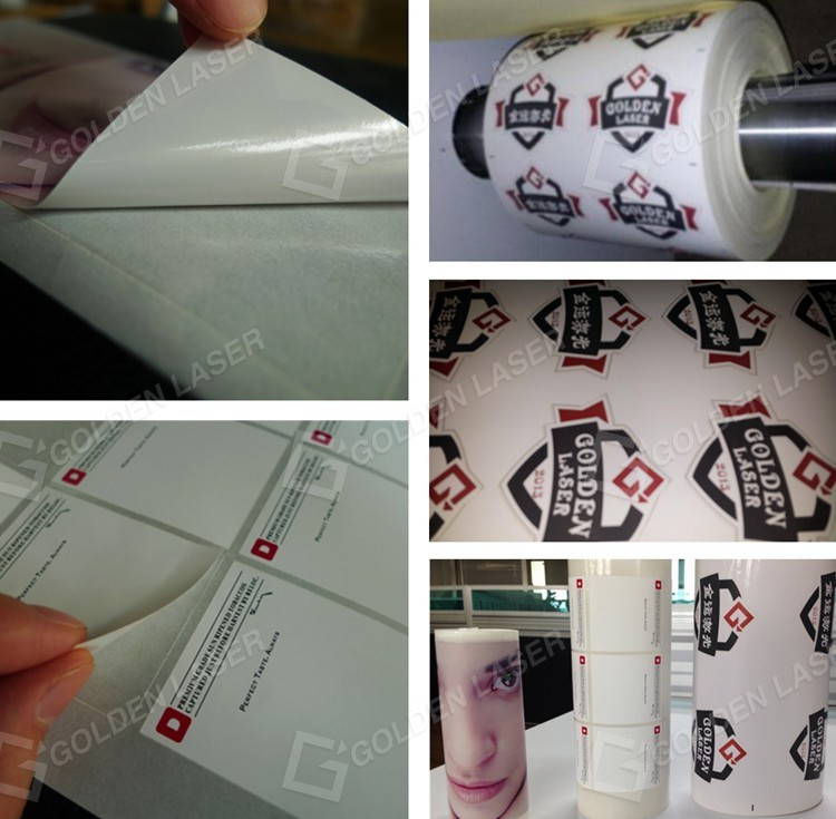 Roll to Roll Laser Self-Adhesive Label Cutting and Finishing Machine
