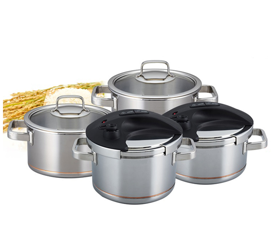 Korea 7 Ply Clad Stainless Steel cookware Magic Cooker (Multi-Cooker)