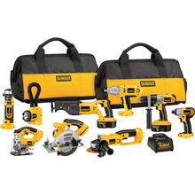 Discount price For New Original DEWALT DCK955X 18-Volt XRP Cordless 9-Tool Combo Kit (Powertools) Electric Drill
