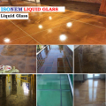 ISONEM LIQUID GLASS BUILDING MATERIAL TRANSPARENT FLOORING MATERIAL FOR GLASS, MARBLE, CERAMIC