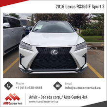 2016 Used Lexus RX350 F Sport 3 for Sale (One Owner)