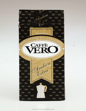 Arabica Extra Blend 250g Vacuum Packed Bag of Italian Ground Coffee