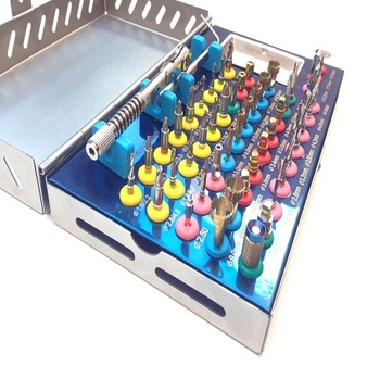 Dental Implants Tools Kits Drills set Guided Surgery Instruments German Standard
