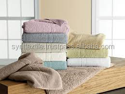 eco friendly 100% organic cotton canvas/ bamboo towels