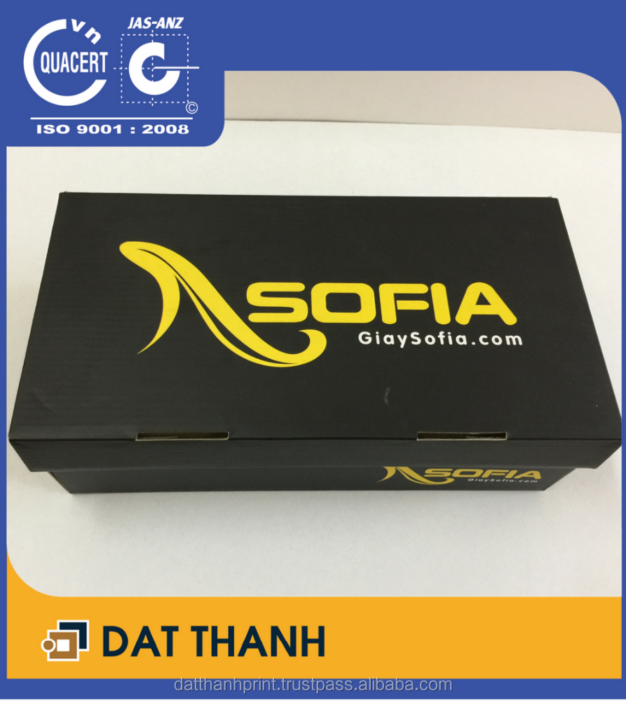 New product Vietnamese shoes packaging box