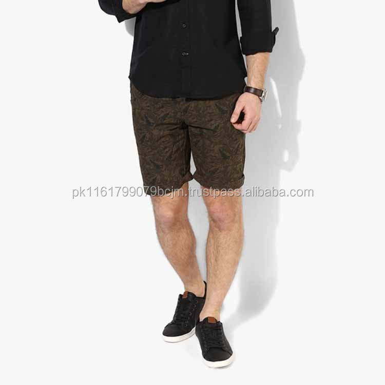 stretchable Men fitness mens casual summer short