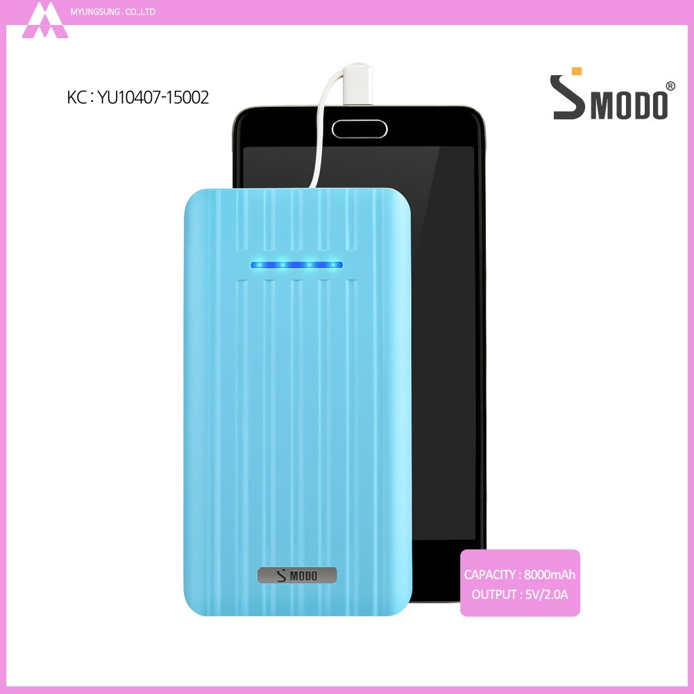 Smartphone accessories new products 8000mah travel phone charger