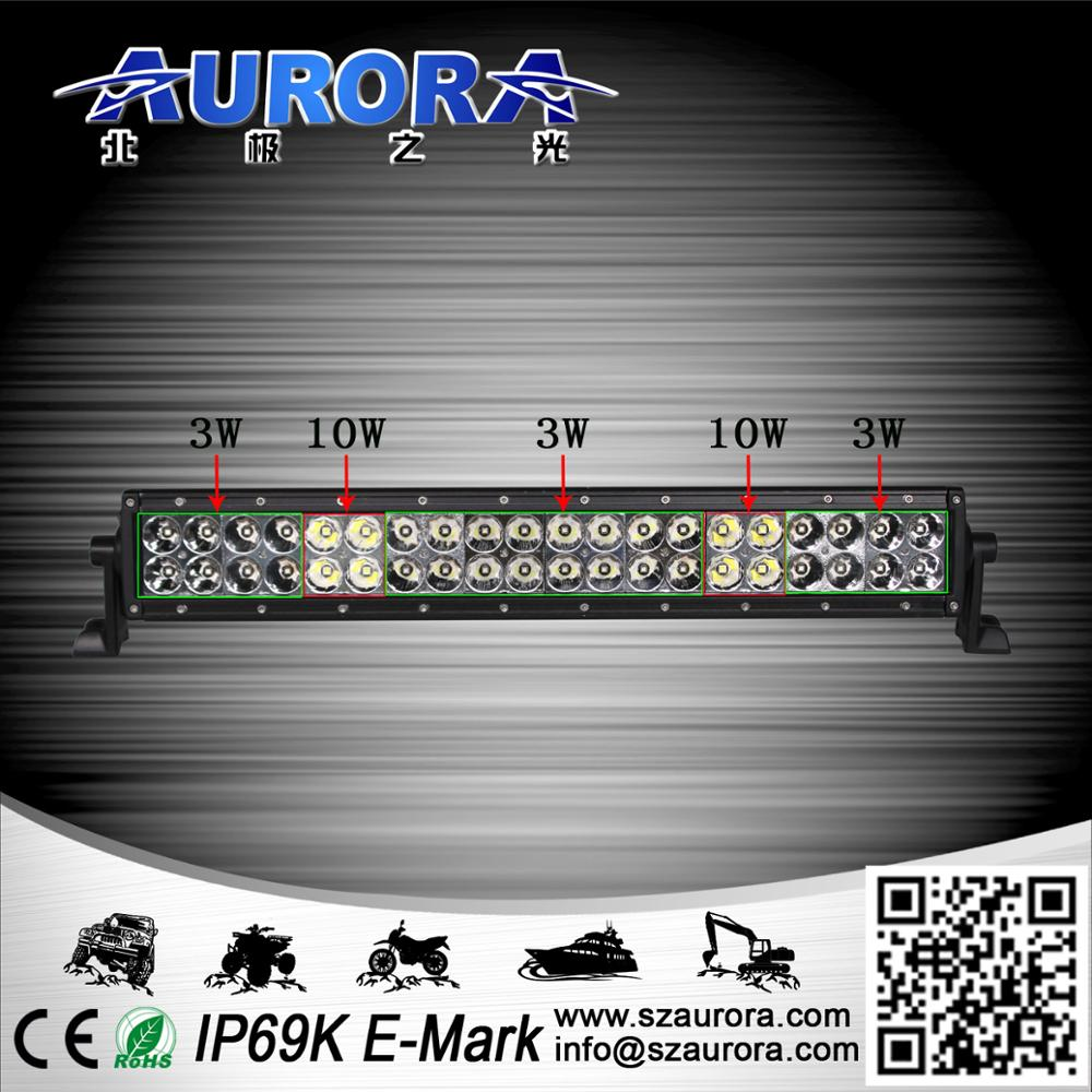 Best Bright ATV Offroad 3W+10W Orsam Led Spot Light Bar