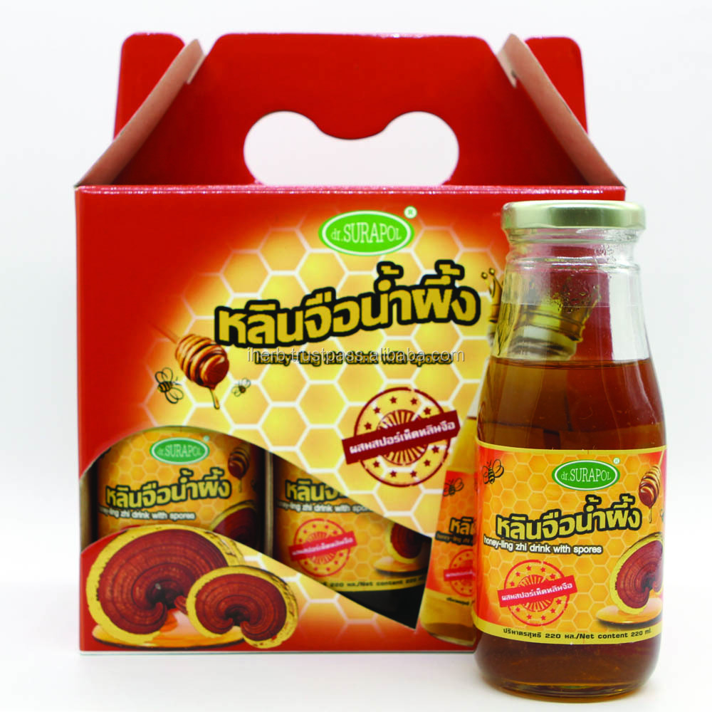Honey Reishi drink with spore by dr.sSURAPOL