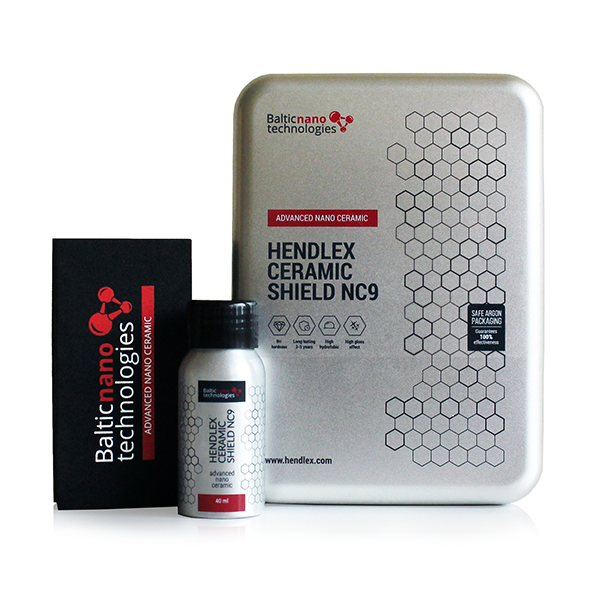 HENDLEX Ceramic Shield NC9 Nano 9H Ceramic Coating For Car Body Paint Protection