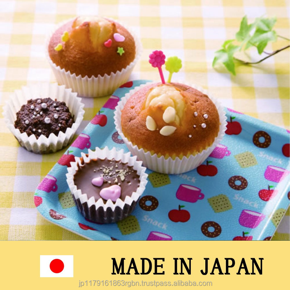 Cost-effective and High quality cupcake cases with multiple functions made in Japan