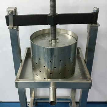 Stainless Steel Manual Coconut Milk Press