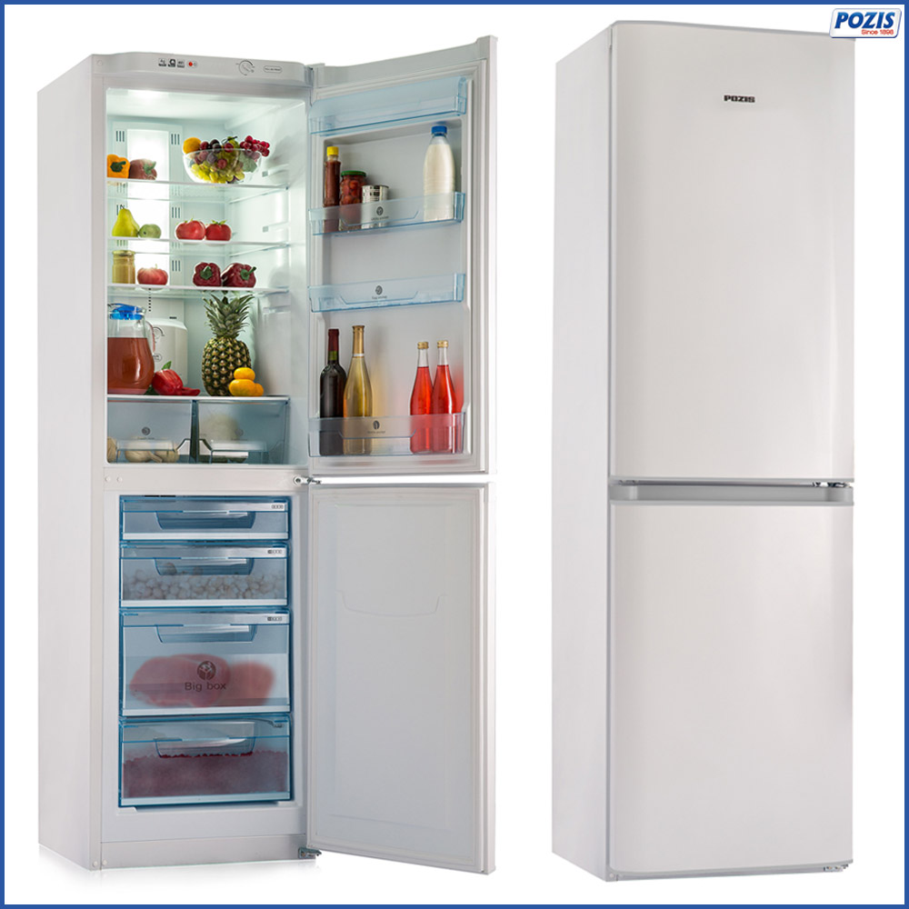 Refrigerator with two doors for home - POZIS RK FNF-172