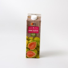 Singapore Most Popular Ripe Hotfill Pink Guava Juice 1L