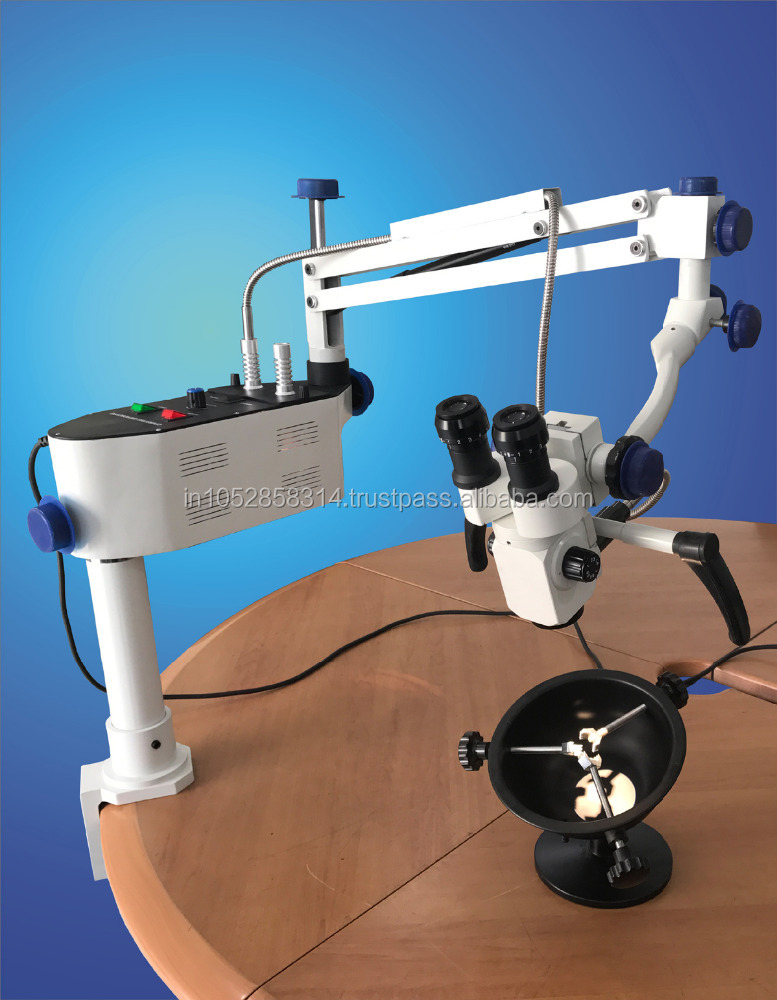 Operation Surgical Microscope With table clamp Wall Mount Used in ENT / Dental Surgical