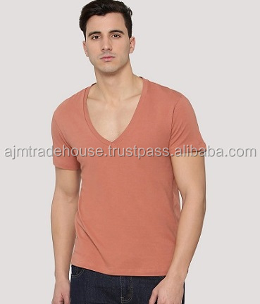 Men t-shirt v neck -109