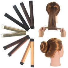 Women Hairstyle Curler French Twist Instant Donut Bun Maker Magic Hair Styling