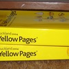 Rejected Yellow Pages Yellow Pages Scrap