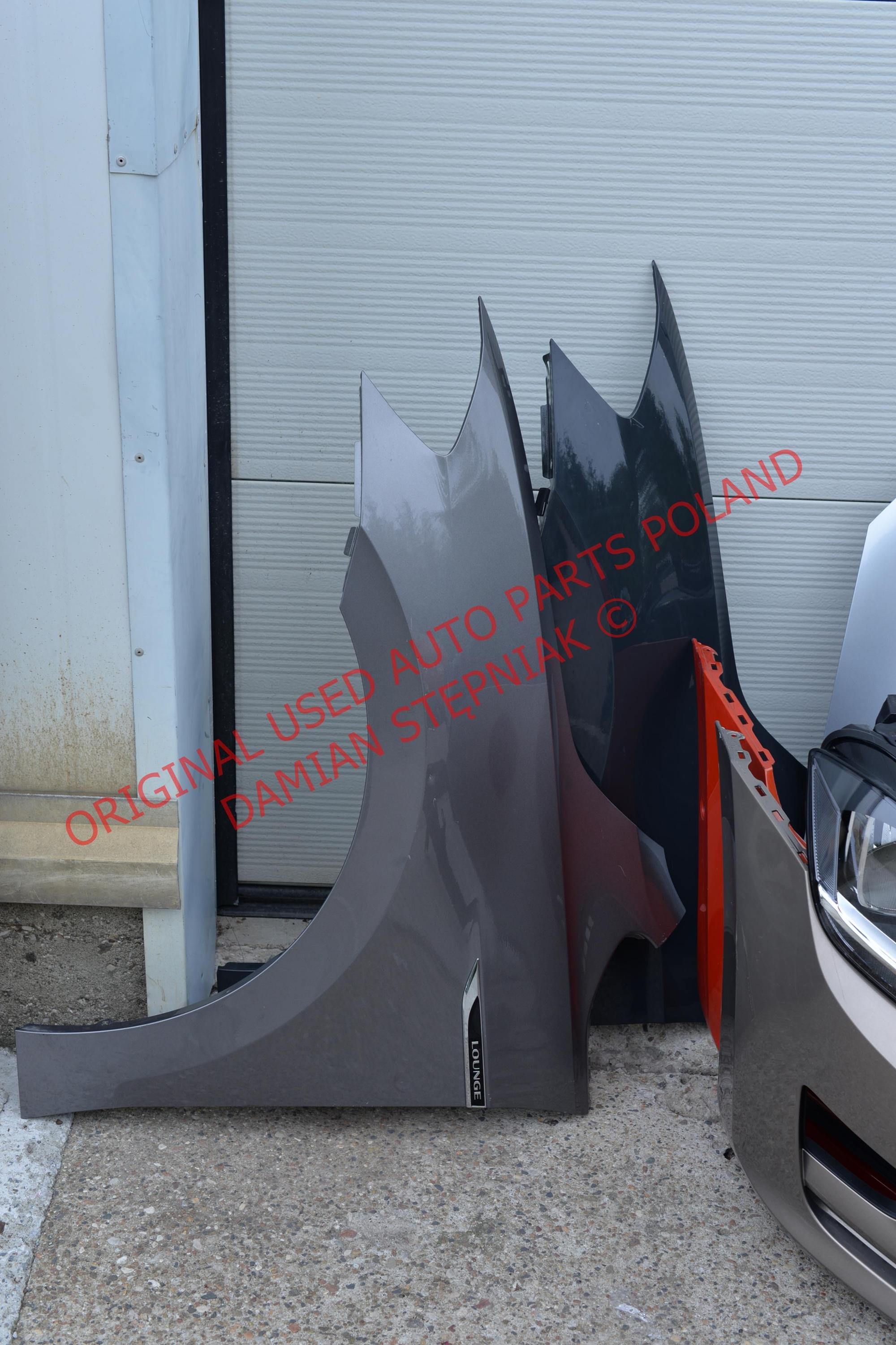 FENDER WING VW GOLF SPORTSVAN 2014- LEFT USED ORIGINAL
