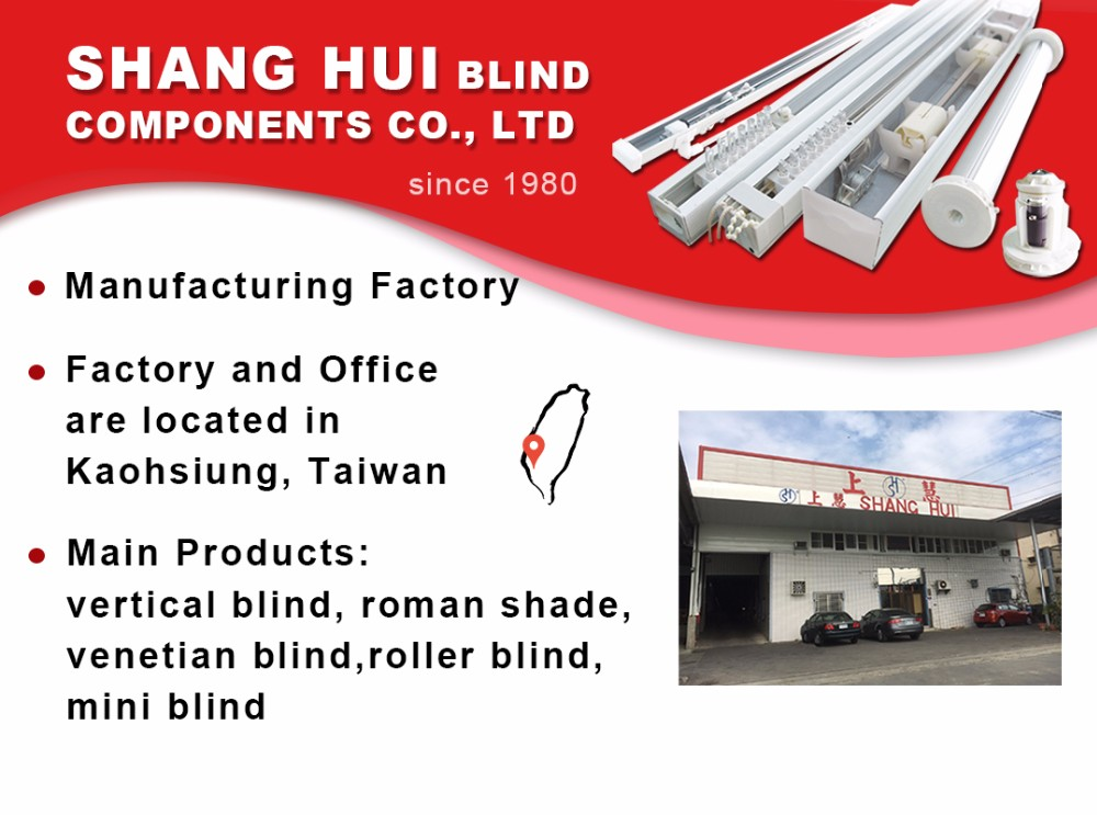Professional mechanism roller blind bottom rail