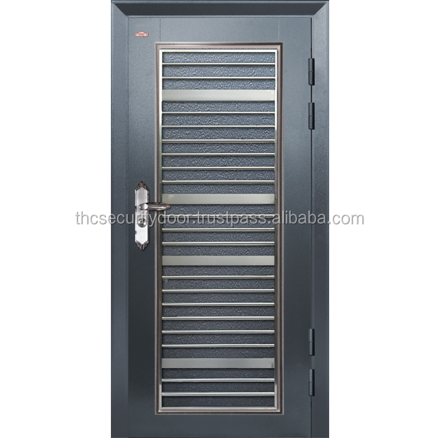 HOT SELLING STAINLESS STEEL 304 HOLLOW GRILLE SECURITY DOOR