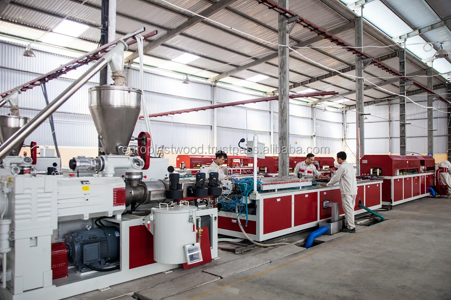 Factory price WPC compound for extrusion oand injection , made in Vietnam, waterproof, mold&mildew resistant.