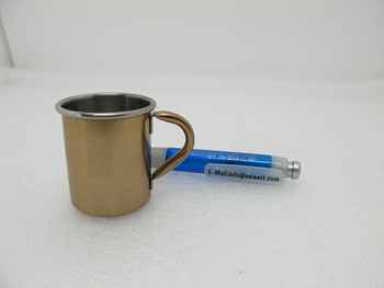 Champagne Stopper, 2oz shot glass, stainless steel shot glass, shot glass, 2oz, mug