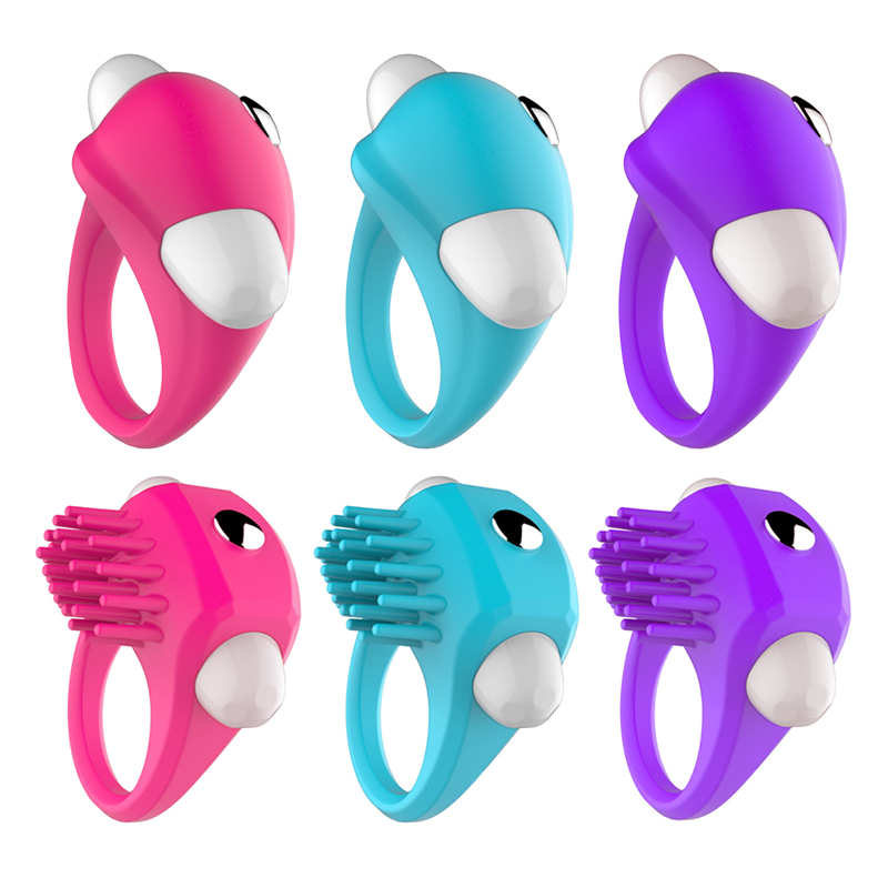 Waterproof Silicone Vibrating Penis Cock Ring Imported Intimate Pleasure Enhancing Ring for Men & Women