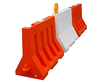 Rotational Molding Plastic PE Traffic Barrier
