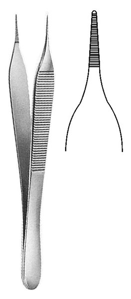 DISSECTING FORCEPS 2 x 3 teeth-3 x 4 teeth-150 mm sgi-45918/DISSECTING FORCEPS 1 x 2 teeth 145 mm sgi-45930